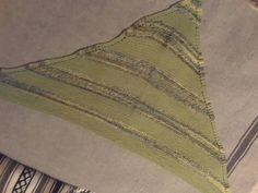 Triangle Scarf, hand dyed wool   Shelridge Farm, Urban Flora