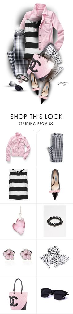 """She's Mixed Up"" by rockreborn ❤ liked on Polyvore featuring Talbots, Lands' End, Topshop, Prada, Alex and Ani, Saskia Diez, Shaun Leane, H&M and Chanel"