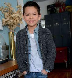 Modèle veste fantaisie enfant