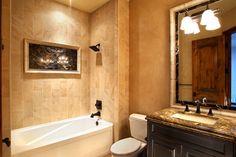Guest Bathroom : Bergamo Interiors, LLC