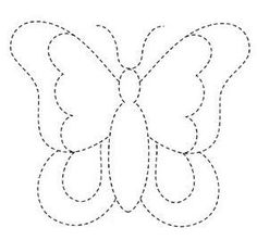 New Ideas Embroidery Butterfly Felt Drawing For Kids, Art For Kids, Crafts For Kids, Sewing Appliques, Applique Patterns, Preschool Worksheets, Preschool Activities, Butterfly Felt, String Art Patterns