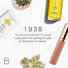 Food for thought. 1938. How does that make you feel? #switchtosafer #beautycounter SHOP | www.beautycounter.com/sarajohnson1