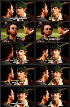 Robin Hood Men In Tights Quotes pin on funny Robin Hood Men In Tights Quotes. Here is Robin Hood Men In Tights Quotes for you. Robin Hood Men In Tights Quotes prepare for the fight scene and join. Funny Movies, Great Movies, Tv Quotes, Movie Quotes, Stupid Funny, Hilarious, Funny Stuff, Seriously Funny, It's Funny