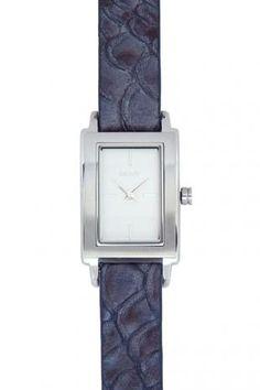 DKNY Stainless Steel and Double Leather Strap Watch  ราคาสมาชิก THB 5,154  (ประหยัด: THB 3,561)