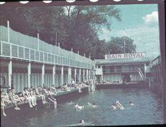 Ein Schwimmbad in Paris, Sommer 1940