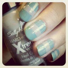 gray in between #nails