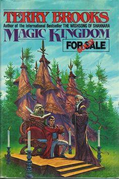Magic Kingdom For Sale--Sold! by Terry Brooks (The Magic Kingdom of Landover, Book Fantasy Book Covers, Fantasy Series, Fantasy Books, Fantasy Art, Sci Fi Books, Fiction Books, Comic Books, Terry Brooks Books, I Love Books