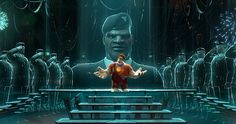 Exciting Places: The Video Game Worlds of Wreck-It Ralph, Hero's Duty
