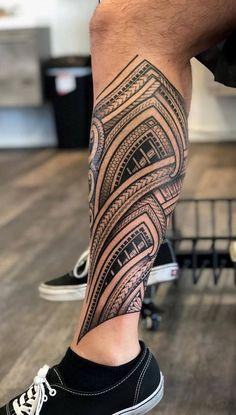 Ankle Band Tattoo, Leg Band Tattoos, Lower Leg Tattoos, Daddy Tattoos, Ankle Tattoo Small, Leg Tattoo Men, Calf Tattoo, Body Art Tattoos, Tattoos For Guys