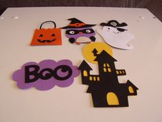 Lot of Cute HALLOWEEN Finished Die Cuts
