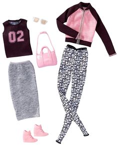 2017_Barbie_Outfits_Athleisure_Tall_Fashion_Pack_Doll.jpg (1215×1500)