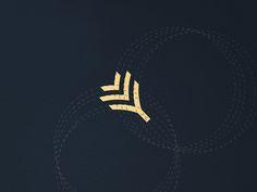 Letter Y Palm logo