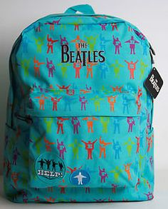 beatles backpack... WHERE DO I GET ONE?!?!?!?! <3