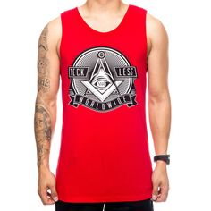 """Young and Reckless Men's """"See Me Now"""" Tank Top - Vulcinity"""