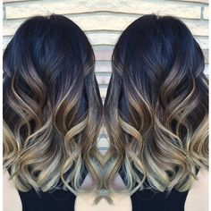 This pic from @behindthechair beautiful tones. If I had to guess a level 3 roots, level 5 or 6 w/ 30 vol. balayage from mid shafts down process 30-45 mins. No heat. Shampoo then dry & prep for ombre either lanza decolorizer or light master 20 volume no heat. Then rinse & tone with chrome 9B champangne for 5-10mins. Shampoo olaplex #1 then #2 cut hair with 2 in it. Then back to sink for final shampoo & conditioner. So want to do this on one of my clients......