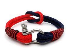 15 % de rabais nautique marin bracelet Bracelet/bracelet bracelet/noeud pour homme / bracelet/paracord bracelet/Manille Bracelet en corde/Bracialle