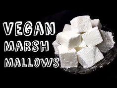 Vegan Marshmallows Recipe | Homemade Marshmallows Recipe | Homemade Vegan Marshmallows - YouTube Marshmallow Buttercream Frosting Recipe, Homemade Marshmallow Fluff, Frosting Recipes, Vegetarian Marshmallows, Recipes With Marshmallows, Homemade Marshmallows, Vegan Sweets, Vegan Desserts, Vegan
