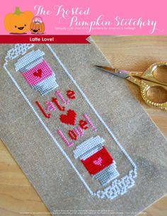 Latte Love! PDF Cross Stitch Pattern