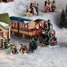 Whole Home®/MD 'Village Collection' Train With Lights - Sears Canada Shopping, Online Furniture, Mattress, Wonderland, Monster Trucks, Train, Lights, Christmas, Collection
