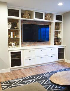 44 best built in tv wall unit images tv unit furniture diy ideas rh pinterest com