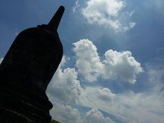 Stupa at Candi Plaosan - Indonesia