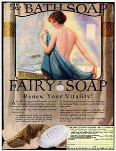 Funny bath soap commercial simply matchless