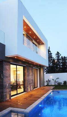 La villa D de Cheikhrouhou & Partners Architects - IDEO