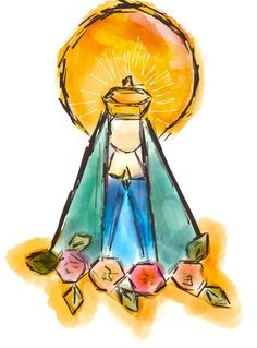 Email - Caroline Santos Cunha - Outlook Catholic Art, Catholic Saints, Religious Art, Catholic Wallpaper, Mama Mary, Holy Mary, Blessed Virgin Mary, Blessed Mother, Mother Mary