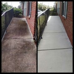 Dirt and grime isn't difficult to power-blast from the surface of your driveways and walkways with a great aussie made pressure washer. Household Cleaning Tips, House Cleaning Tips, Diy Cleaning Products, Deep Cleaning, Spring Cleaning, Gutter Cleaning, Pressure Washing Business, Power Washing Services, House Wash