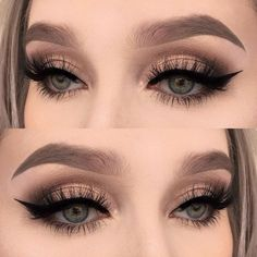 Eye Makeup Tips.Smokey Eye Makeup Tips - For a Catchy and Impressive Look Prom Eye Makeup, Clown Makeup, Skin Makeup, Wedding Makeup, Makeup Brushes, Halloween Makeup, Rave Makeup, Witch Makeup, Makeup Remover