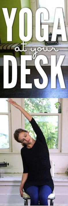 Yoga At Your Desk http://vid.staged.com/nLVs
