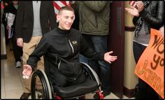 Support wounded warrior, USMC 1st Lt. James Byler -- http://www.sot5k.org/ and other military heroes: http://buildinghomesforheroes.org/