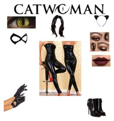 """Catwoman🐈"" by galaxic-wolf ❤ liked on Polyvore featuring Givenchy, Felina and LASplash"