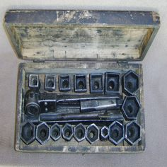 This is a vintage socket wrench set made by the Chicago MFG. & Distributing CO. in Chicago Illinois and based on various published references; the company appears to have remained in business until at