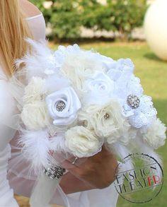 Bouquet di stoffa - fabric bouquet di Fashion Theater