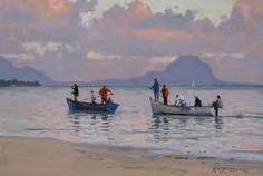 Resultado de imagem para roelof rossouw South African Art, Landscape Art, Art Boards, Art History, Image Search, Oil Paintings, Boats, Art Ideas, Inspirational