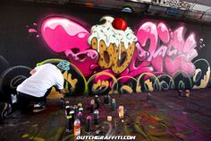 Graffiti Step In The Arena 2015 - Berenkuil Eindhoven, Netherlands. Artist: Boogie