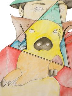 Andina / Auarelas y entintado / Water color and Injed Baby Zombie, Collage Illustration, Scooby Doo, Pikachu, Fictional Characters, Art, Illustrations, Colors, Art Background