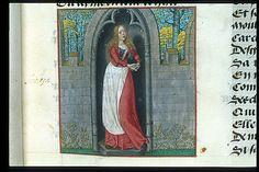 Guillaume de Lorris and Jean de Meun, Roman de la Rose, c. 1490 - c. 1500, Harley 4425, f. 10, Tristesse