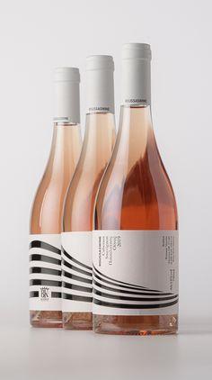 Roussas Wine on Packaging of the World - Creative Package Design Gallery Wine Bottle Design, Wine Label Design, Wine Bottle Labels, Wine Packaging, Packaging Design, Branding Design, Logo Design, Corporate Branding, Logo Branding