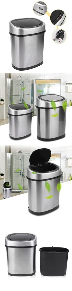 Trash Cans And Wastebaskets Inspiration Trash Cans And Wastebaskets 20608 Husky 42 Gallon Heavy Duty Design Decoration