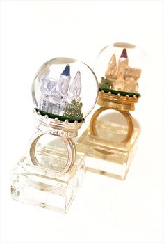 Lolibrary | Jane Marple - Jewelry - Snow Castle Dome Ring