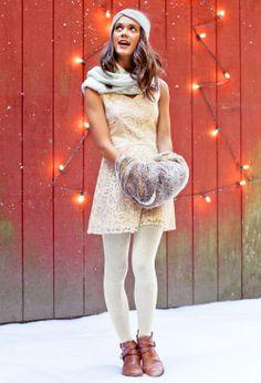 Perfect Cream Dress