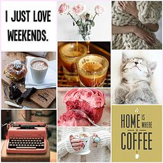 sundaymorning_pinterest_collage #Sunday #weekend #coffee #relaxing