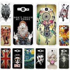 Cool Design Soft TPU Back Cover Case For Samsung Galaxy Grand Prime G530 G530H G5308W Soft Silicone Printing Phone Cases