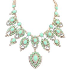 Fashion Statement Necklace (8,305 KRW) via Polyvore