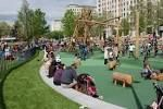 Jubilee gardens playground, opposite the london eye. Free and great fun!