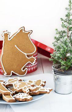 Gingerbread ❅ Moomins #Christmas
