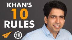 Salman Khan's Top 10 Rules For Success (@salkhanacademy)