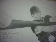 Baseball, graphite on A3